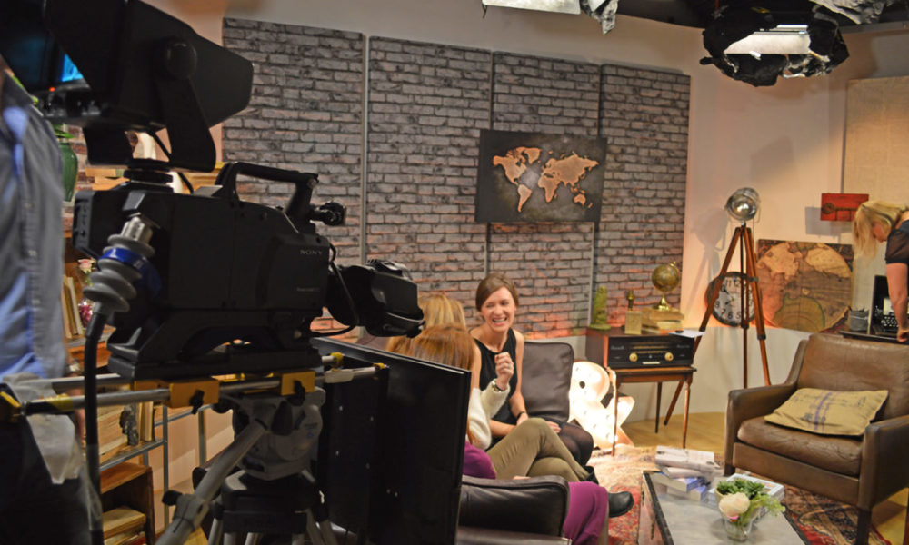 Fully equipped TV/WebTV studio