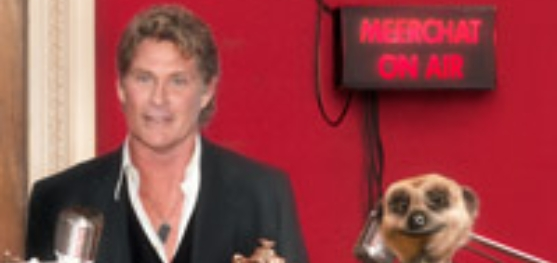 Markettiers4dc Launch The Inaugural Meerchat With David Hasselhoff