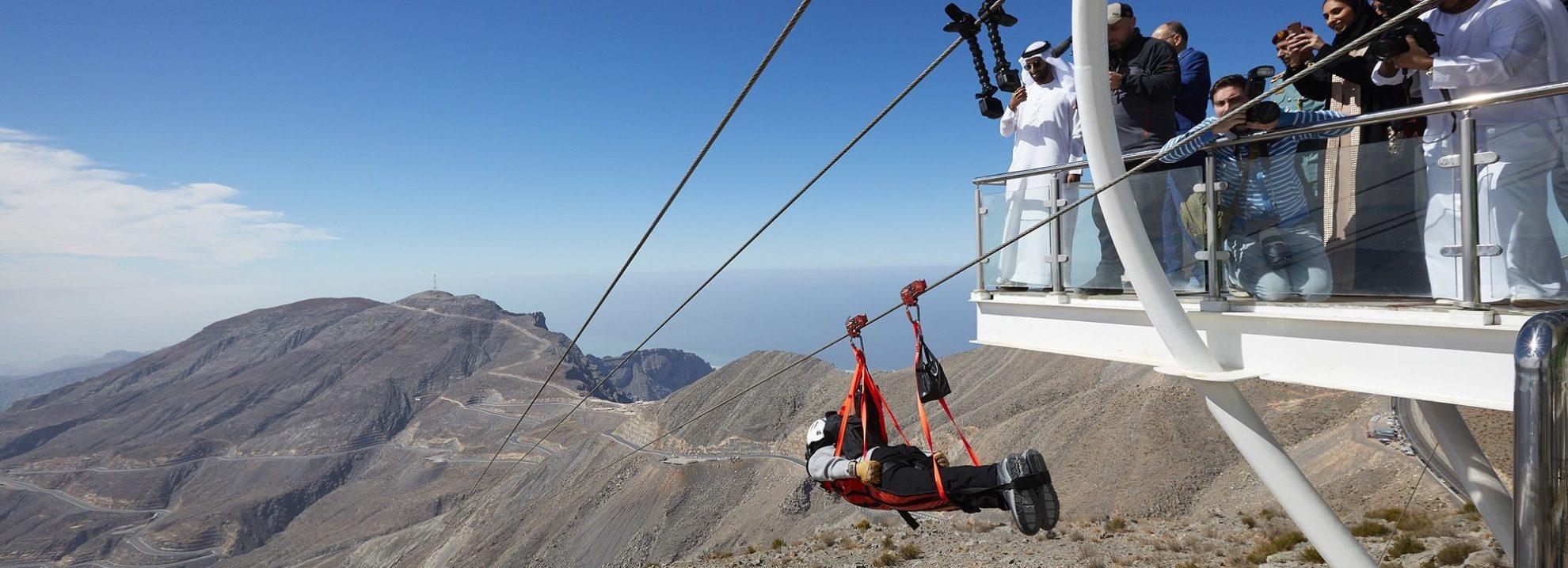markettiers launches world's longest zip-line in the UAE